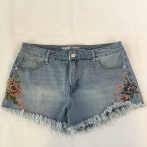 Mossimo Cut Offs  Blue Jean Shorts Size 16/33